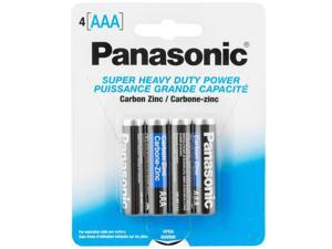 Panasonic 4AAA Super Heavy Duty- 96 Pack ( 24 Cards of 4)