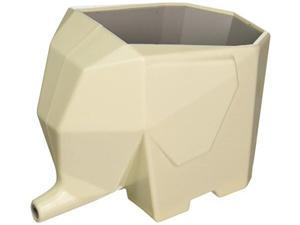 Creative Motion Kitchen Water Drain Device & Shaped in Elephant Design, Ivory