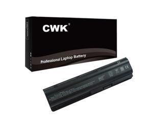 CWK® 12 Cell 8800mAh High-Capacity Battery for HP MU06 MU09 593554-001 593553-001 HP COMPAQ Presario CQ42 CQ62 593553-001 dv7-4000 HP Compaq 588178-141 593550-001 593553-001 593554-001 COMPAQ