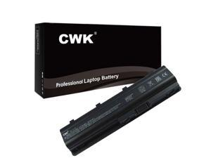 CWK New Replacement Laptop Notebook Battery for HP P/N: 593553-001 593554-001 593555-001 588178-141 593553-001 HP Compaq PRESARIO CQ62-A50SH CQ62-219WM HSTNN-CBOX HSTNN-DB0W HP Pavilion G7-1117CL