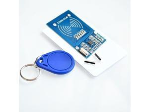 MFRC-522 RC522 RFID RF IC Card Inductive Module + S50 White Card + Key Ring