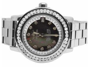 Ladies Breitling Aeromarine Colt 33 A77387 Diamond Watch 2.5 Ct