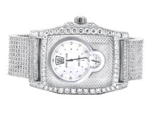 Custom Breitling Bentley Flying B Diamond Watch (32 Ct)