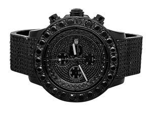 Breitling A13370 Super Avenger Black Diamond Watch (35 Ct)