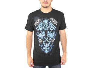 World of Warcraft Shaman Legendary Class Blue T-Shirt