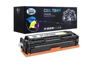 Cool Toner 1 Pack Compatible HP 128A CE322A Yellow Toner Cartridge