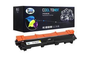 Cool Toner 1 Pack Compatible Brother TN221 TN221Y Yellow Toner Cartridge
