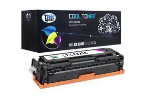 Cool Toner 1 Pack Compatible HP 128A CE323A Magenta Toner Cartridge