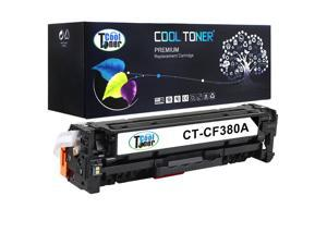 Cool Toner 1 Pack Compatible HP 312A CF380A Black Toner Cartridge