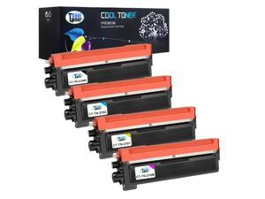 Cool Toner 4 Pack Compatible Brother TN210BK TN210C TN210M TN210Y Color Set