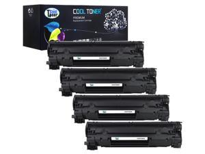 Cool Toner 4 Pack Compatible HP 83X CF283X Black Toner Cartridge