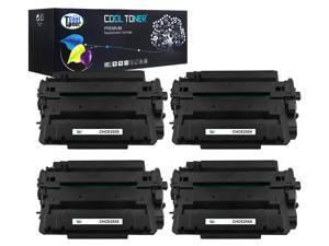 Cool Toner 4 Pack Compatible HP 55X CE255X Black Toner Cartridges