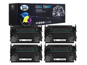 Cool Toner 4 Pack Compatible HP 87A CF287A Black Toner Cartridges