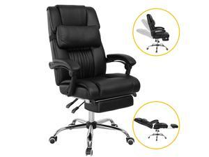 High Back PU Leather Executive Office Chair Recliner