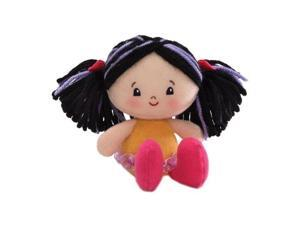 "Gund Hailey Girlies 5"" Doll, Black Hair"