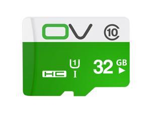 OV 16G/32G/64G Micro SDXC Memory Card Class 10 UHS-1 Shock-poof for Phone / Tablet / Car DVR,Speed Up to 95MB/s
