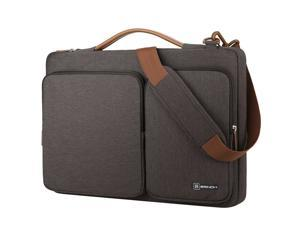 f28e3a3c20 ESTONE 13.3-Inch Multi-functional Portable Laptop Sleeve Case Bag Briefcase  with Luggage Strap for 13- 13.3 Inch Laptop MacBook Chromebook Computers