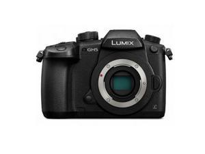 Lumix 4K Mirrorless ILC 20.3MP 4K Dual Image Stabilization WiFi Camera With Bluetooth - Body Only (DCGH5K)