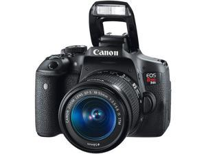 Canon EOS Rebel T6i 24.2 MP Digital SLR Camera with Built-in Wi-Fi, NFC and 18-55mm IS STM Lens (EOSREBELT6I)