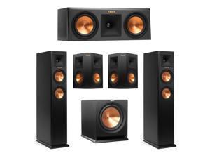 klipsch 5 1 surround sound. klipsch 5.1 system with 2 rp-250f tower speakers, 1 rp-250c center 5 surround sound p