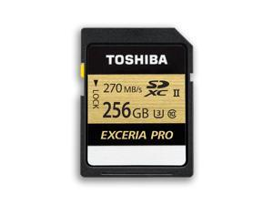 Toshiba Exceria Pro SDXU SD Memory Card 256GB Ultra fast 270Mb/s