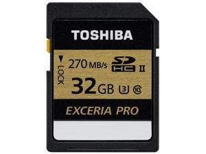 Toshiba Exceria Pro SDXU SD Memory Card 32GB Ultra fast 270Mb/s