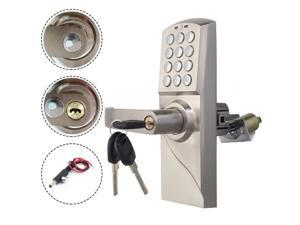Digital Electronic/Code Keyless Keypad Security Entry Door Lock Left Handle
