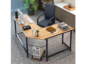 L Shaped Computer Desk Home Office Furniture Corner
