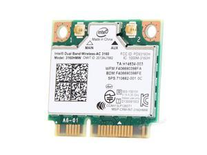 Intel 3160HMW Wifi Bluetooth 4.0 Wireless-AC 3160 802.11 ac Mini PCI-E Wlan Card