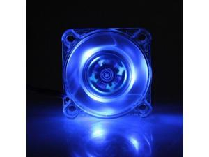 40mm 12V 3Pin Blue LED light DC Brushless Cooling Fan Laptop PC Computer IDE Fan