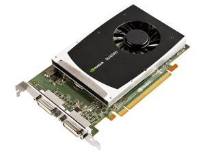 NVIDIA Quadro 2000D by PNY 1GB GDDR5 PCI Express Gen 2 x16 Dual DVI-I DL OpenGL, DirectX, CUDA, and OpenCL Profesional Graphics Board, VCQ2000D-PB