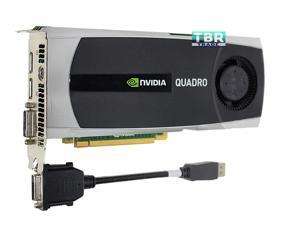 NEW Nvidia Quadro 5000 2.5GB GDDR5 Video Graphics Card PCI Express DVI DP