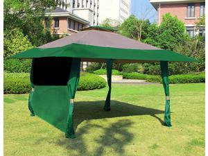 Cloud Mountain 1 PC Wall Side Gazebo Canopy Wind and Sun Shade Privacy Panel Curtain Replacement & Gazebos u0026 Canopies - Newegg.com