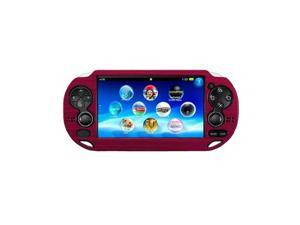 Red Colorful Aluminum Metal Skin Protective Cover Case for Sony PS Vita PSV Console