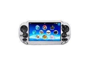 Silver Colorful Aluminum Metal Skin Protective Cover Case for Sony PS Vita PSV Console