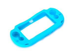 Light blue Protective Silicone Soft Case Cover Skin Bag Pouch Sleeve for Sony PS Vita PSV