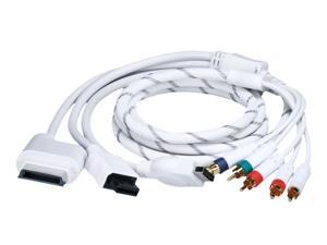 6FT 4 in 1 Combo Component AV Audio Video Cable for Xbox 360, Wii, PS3 PS2 - NEW