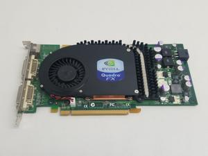 Nvidia  Quadro FX 3450 256MB GDDR3 SDRAM PCI Express x16  Video Card