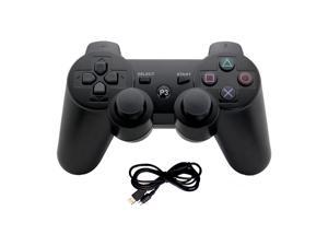 PS3 Controller Wireless Bluetooth Six Axis Controllers Gamepad for PlayStation 3 Dualshock 3 with Charging Cable