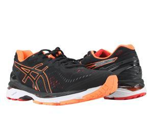Asics Gel-Kayano 23 Black/Hot Orange/Vermilion Men's Running Shoes T646N-9030 Size 11