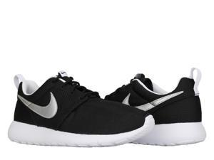 Nike Roshe One (GS) Black/Silver-White Big Kids Running Shoes 599728