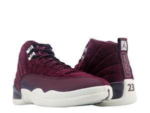 Nike Air Jordan 12 Retro Bordeaux/Sail-Silver Men's ...