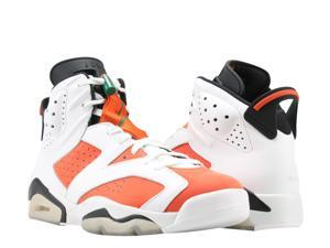Nike Air Jordan 6 Retro Gatorade Orange/White Men's Basketball Shoes ...