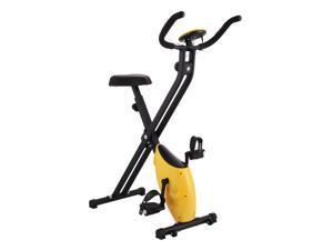 VEVOR Upright Exercise Bike 220LBS Folding Gym Cycle