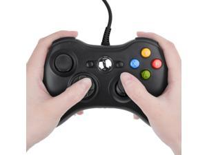 USB Wired Joypad Gamepad Black Controller For Xbox 360 Joystick For Official Microsoft PC for Windows 7 / 8 / 10