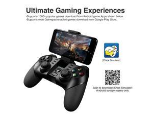 IPEGA PG-9076 3in1 Wireless Bluetooth 2.4G Game Controller Gamepad for Android/iOS/PC/TV Box/PS3 - Black