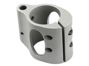 AR15 Low Profile Micro .223 Rifle STEEL Gas Block & Roll Pin .750 Hide Under quad rail