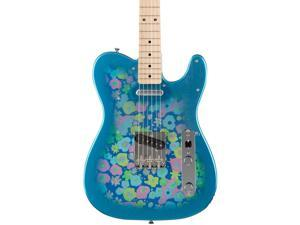 Fender Classic '69 Blue Flower Telecaster Maple Fingerboard Blue Flower