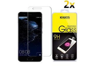 [2-Pack] KHAOS [Tempered Glass] Screen Protector For Huawei P10 Plus 2017