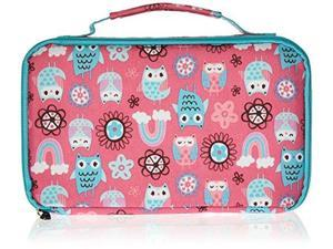 54fbdb8adc Fit   Fresh 841JL405 Bento Lunch Box Set with Insulated Carry Bag - Rainbow  Owl